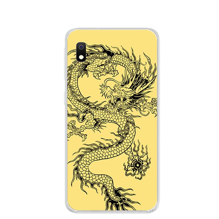 Ốp lưng dẻo cho điện thoại Samsung Galaxy A10 - 0224 DRAGON04 - Hàng Chính Hãng