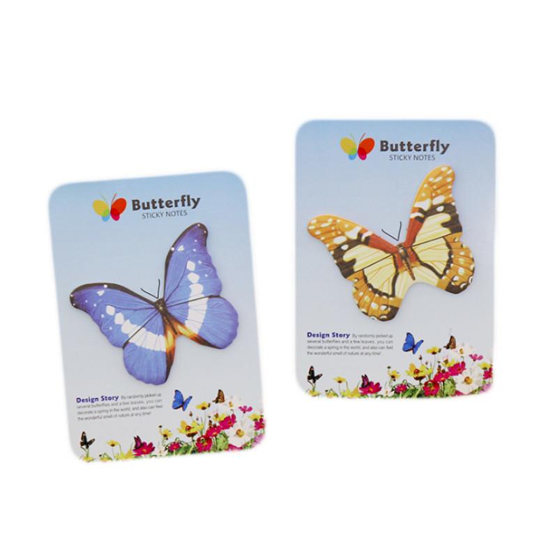 Bộ 2 giấy ghi chú note hình bướm trang trí thủ công - 1557784 , 5407211523208 , 62_10108171 , 26000 , Bo-2-giay-ghi-chu-note-hinh-buom-trang-tri-thu-cong-62_10108171 , tiki.vn , Bộ 2 giấy ghi chú note hình bướm trang trí thủ công