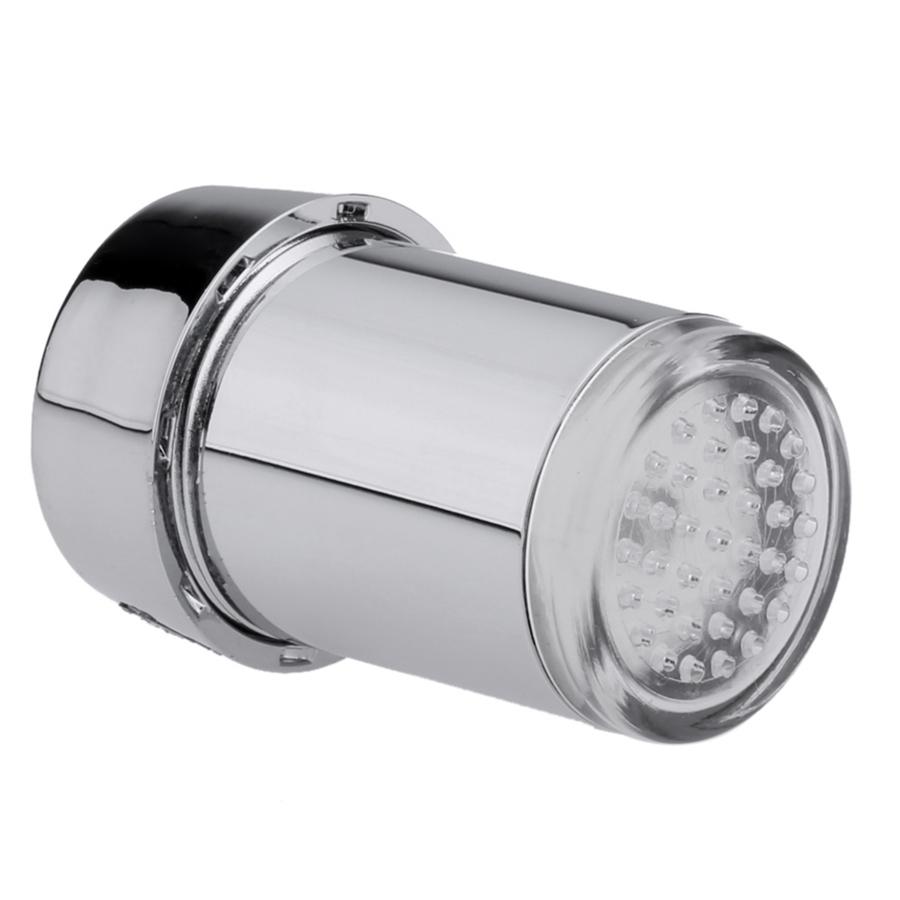 Vòi Nước Gắn Đèn LED Chuyển Màu