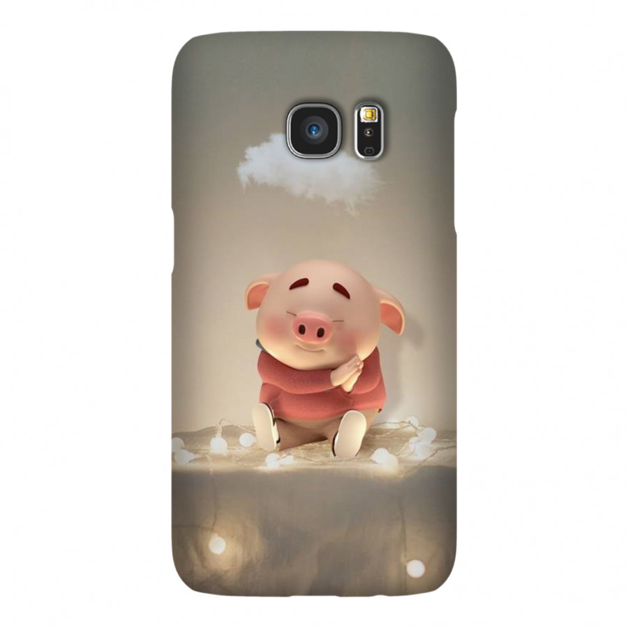 Ốp Lưng Cho Điện Thoại Samsung Galaxy S7 - Mẫu heocon 114