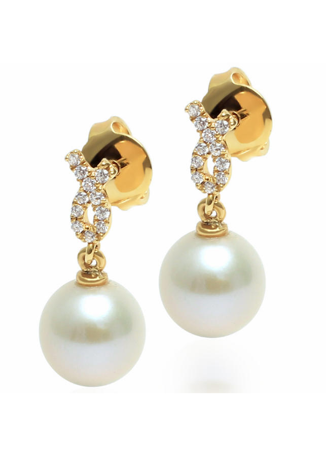 Bông Tai Ngọc Trai LuxJy Jewelry E3059