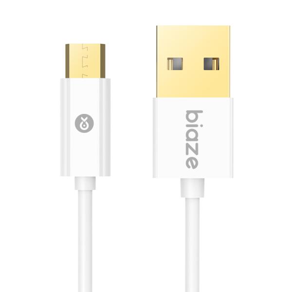 Dây Cáp Sạc Và Truyền Dữ Liệu USB BIAZE K29 Dài 1.2m - Trắng