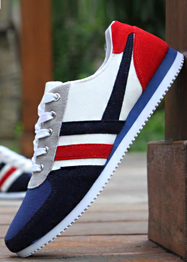 Giày sneaker nam phong cách lịch lãm  0602 - 753969 , 9762758345772 , 62_11409973 , 408000 , Giay-sneaker-nam-phong-cach-lich-lam-0602-62_11409973 , tiki.vn , Giày sneaker nam phong cách lịch lãm  0602