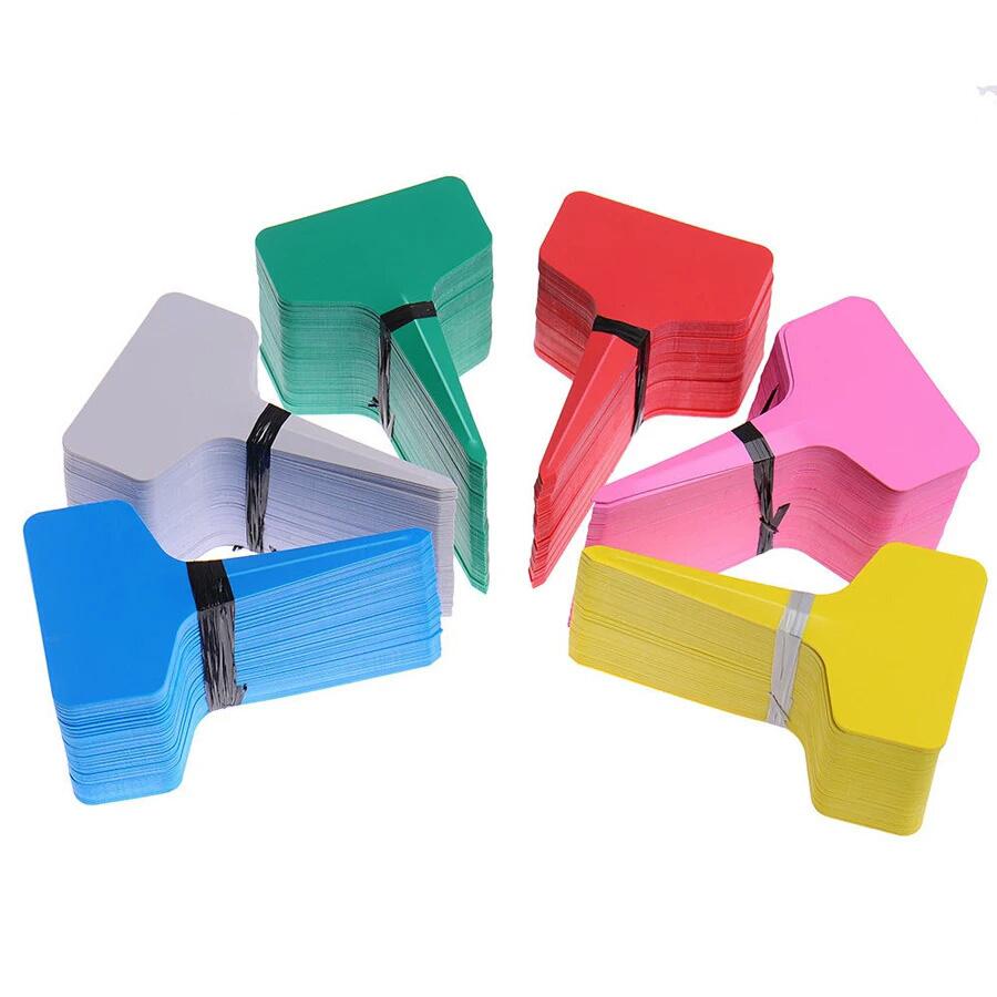 Thẻ ghim vườn hoa chậu cây chữ T nhiều màu