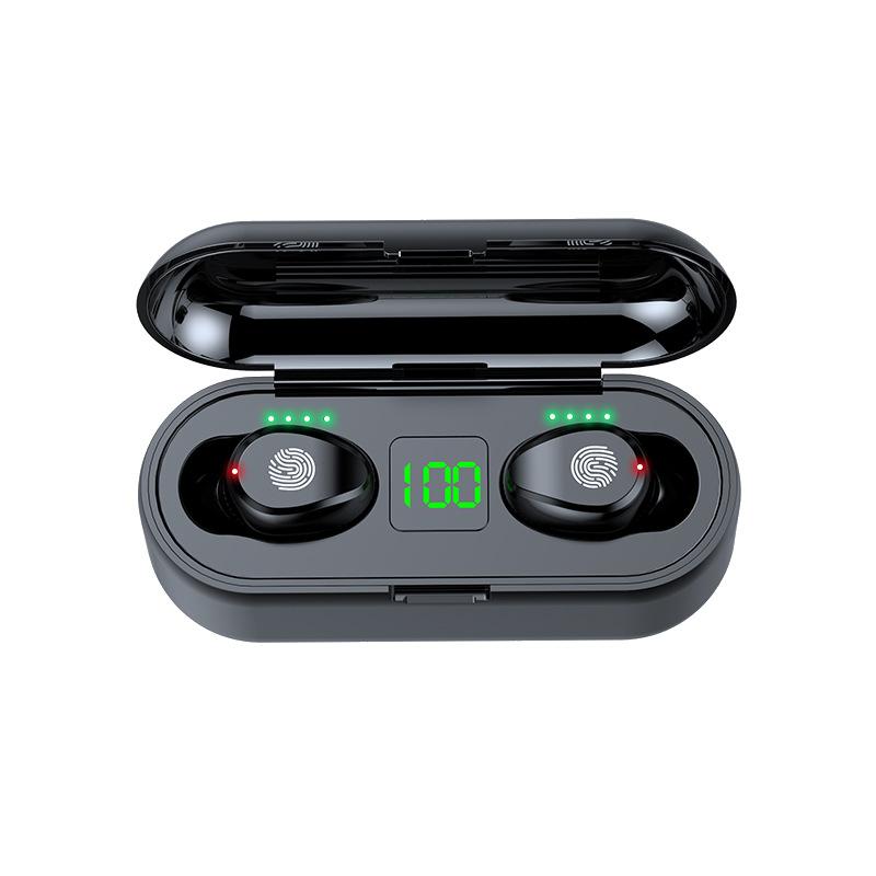 Tai Nghe Bluetooth True Wireless AMOI F9 5.0 Cảm Ứng Vân Tay, Nâng Cấp Dock Sạc có Led Báo Pin Kép - Hàng Nhập Khẩu - 23102387 , 6129763220549 , 62_38058925 , 899000 , Tai-Nghe-Bluetooth-True-Wireless-AMOI-F9-5.0-Cam-Ung-Van-Tay-Nang-Cap-Dock-Sac-co-Led-Bao-Pin-Kep-Hang-Nhap-Khau-62_38058925 , tiki.vn , Tai Nghe Bluetooth True Wireless AMOI F9 5.0 Cảm Ứng Vân Tay, N