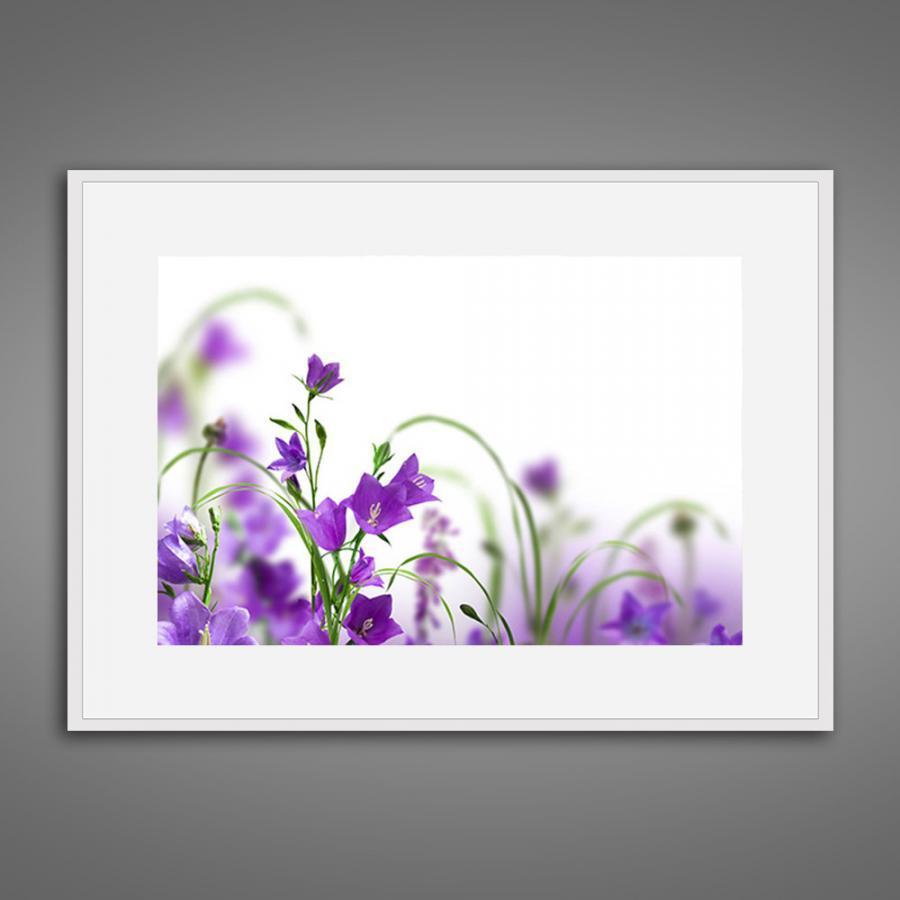 Khung tranh Canvas đơn hoa lá 17