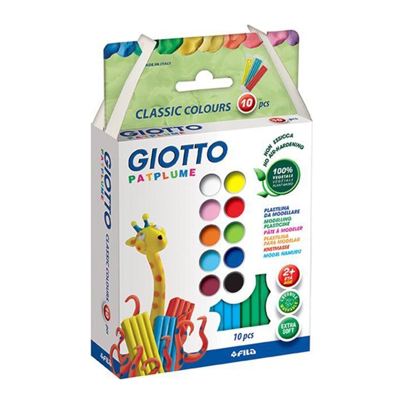 Đất Nặn Giotto Patplume Classic 512900 (10 Màu/Hộp) - 1677674 , 9291865229328 , 62_11662742 , 187000 , Dat-Nan-Giotto-Patplume-Classic-512900-10-Mau-Hop-62_11662742 , tiki.vn , Đất Nặn Giotto Patplume Classic 512900 (10 Màu/Hộp)