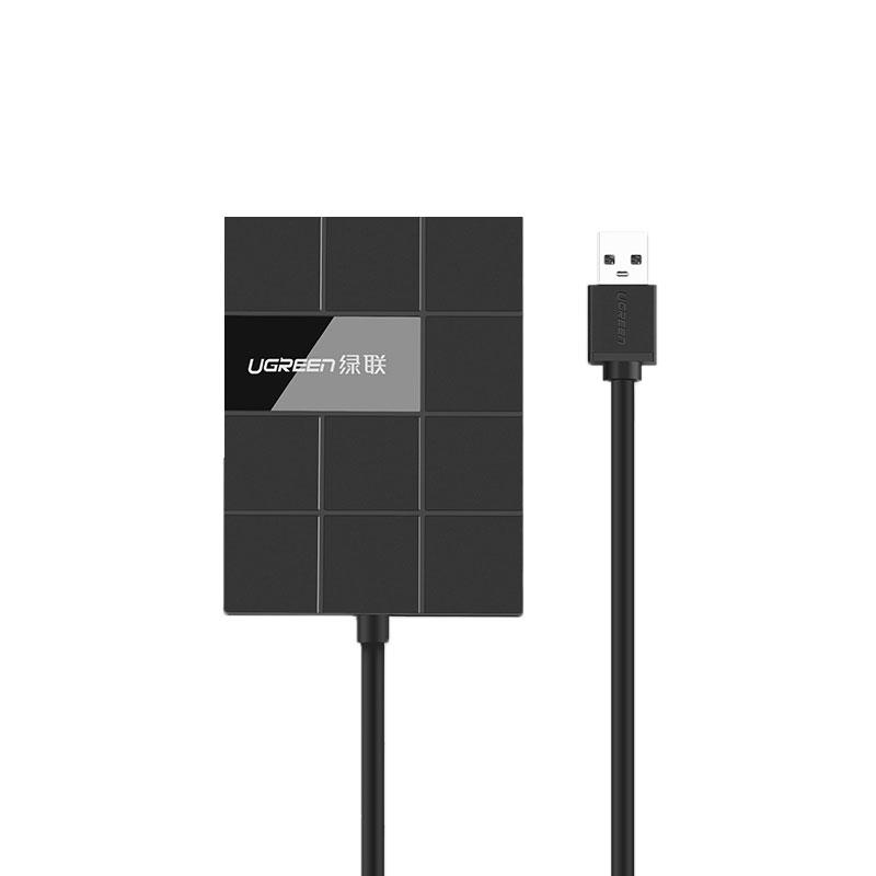 Đọc Thẻ Nhớ SD/TF/CF/MS Và Hub USB 3.0 Ugreen 30846