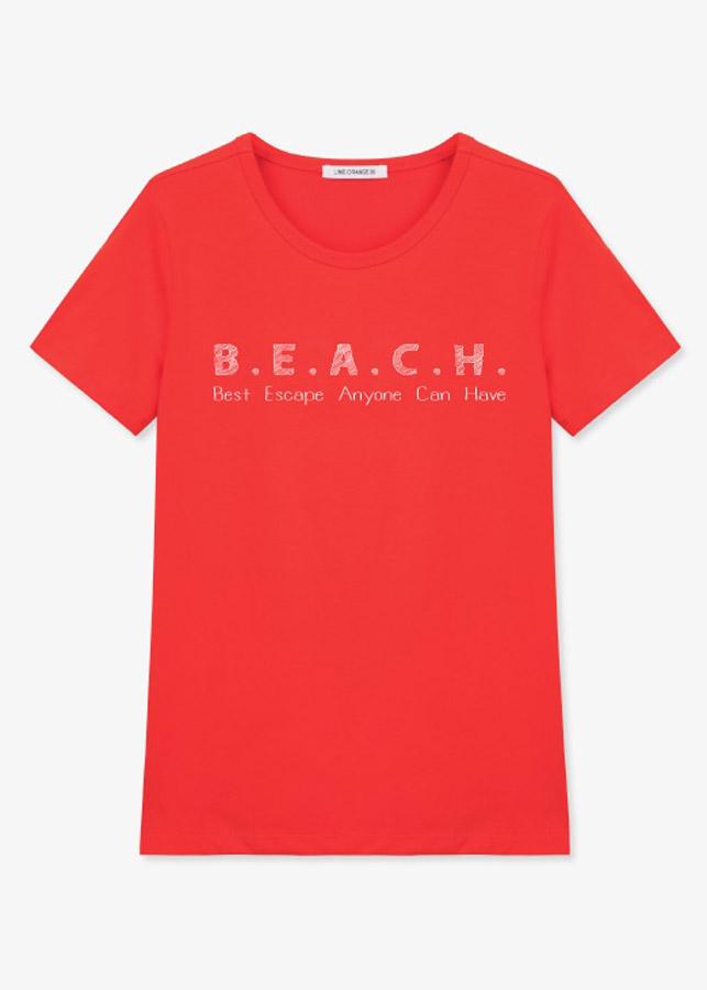 Áo Tay Ngắn Nữ LimeOrange T-shirt -LO19161123-R (Size L)