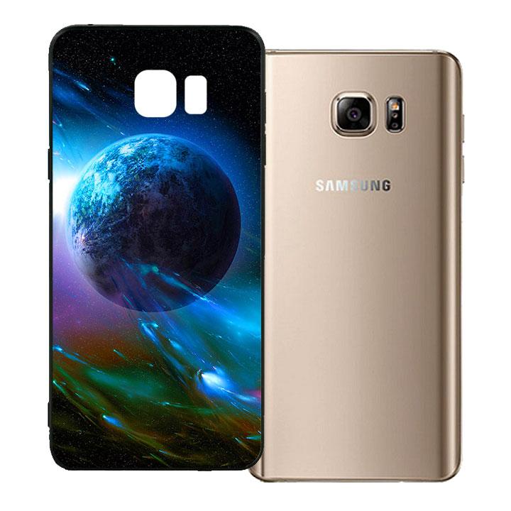 Ốp lưng viền TPU cho Samsung Galaxy Note 5 - Universe