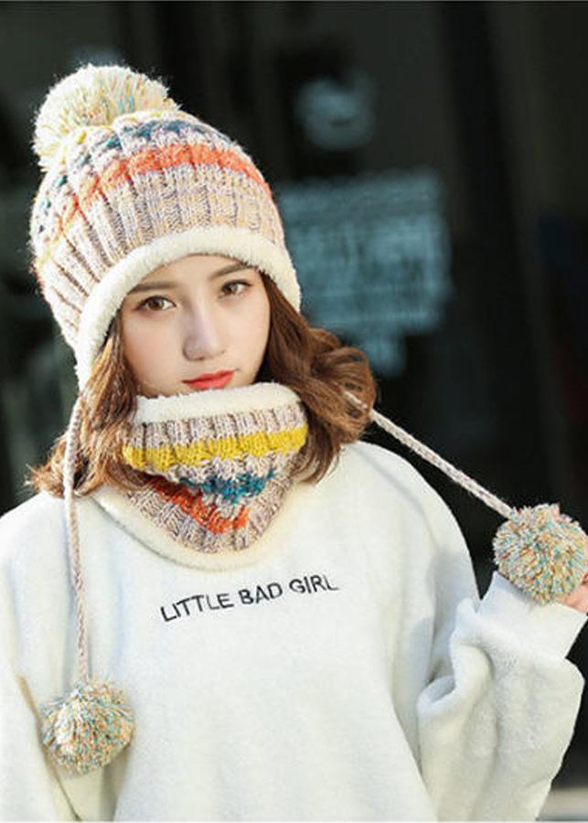 Bộ mũ len và khăn trùm cổ sọc màu A003 - 5369121 , 9114447041685 , 62_15682444 , 190000 , Bo-mu-len-va-khan-trum-co-soc-mau-A003-62_15682444 , tiki.vn , Bộ mũ len và khăn trùm cổ sọc màu A003