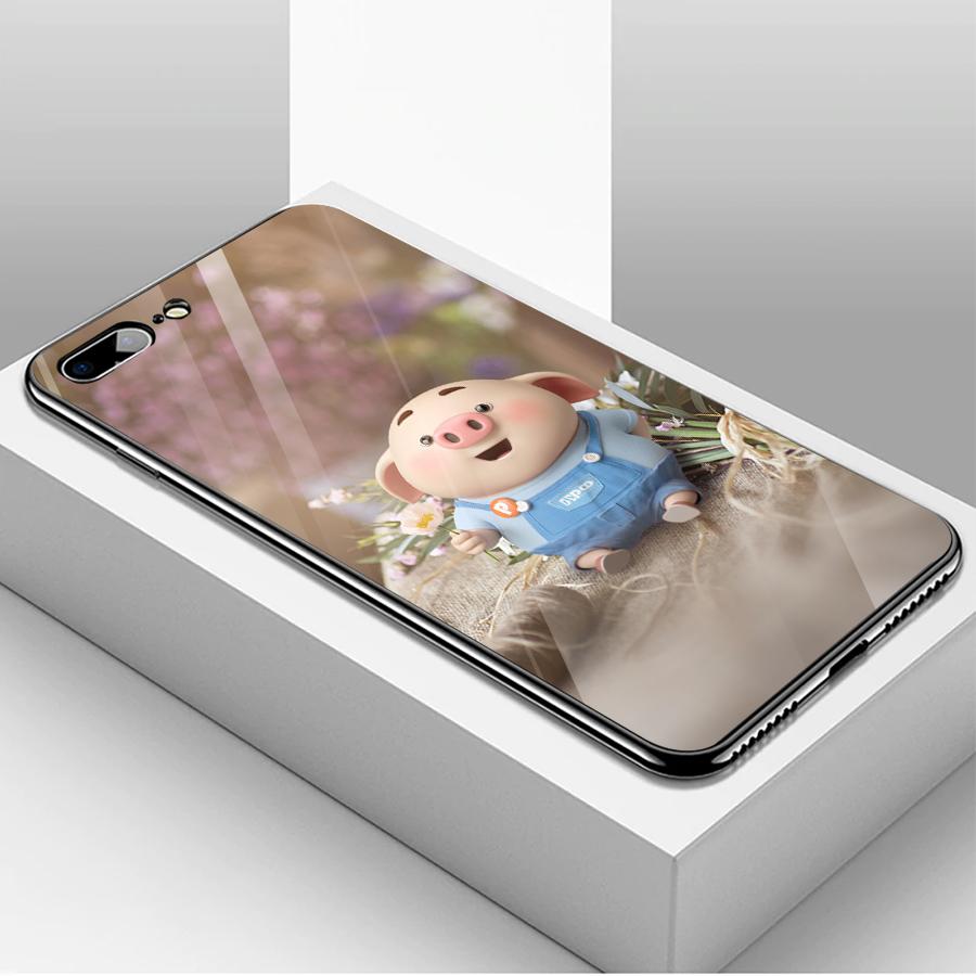 Ốp kính cường lực dành cho điện thoại iPhone 7/8 Plus - heo hồng - hh033 - 1739532 , 4087943052460 , 62_13626374 , 206000 , Op-kinh-cuong-luc-danh-cho-dien-thoai-iPhone-7-8-Plus-heo-hong-hh033-62_13626374 , tiki.vn , Ốp kính cường lực dành cho điện thoại iPhone 7/8 Plus - heo hồng - hh033