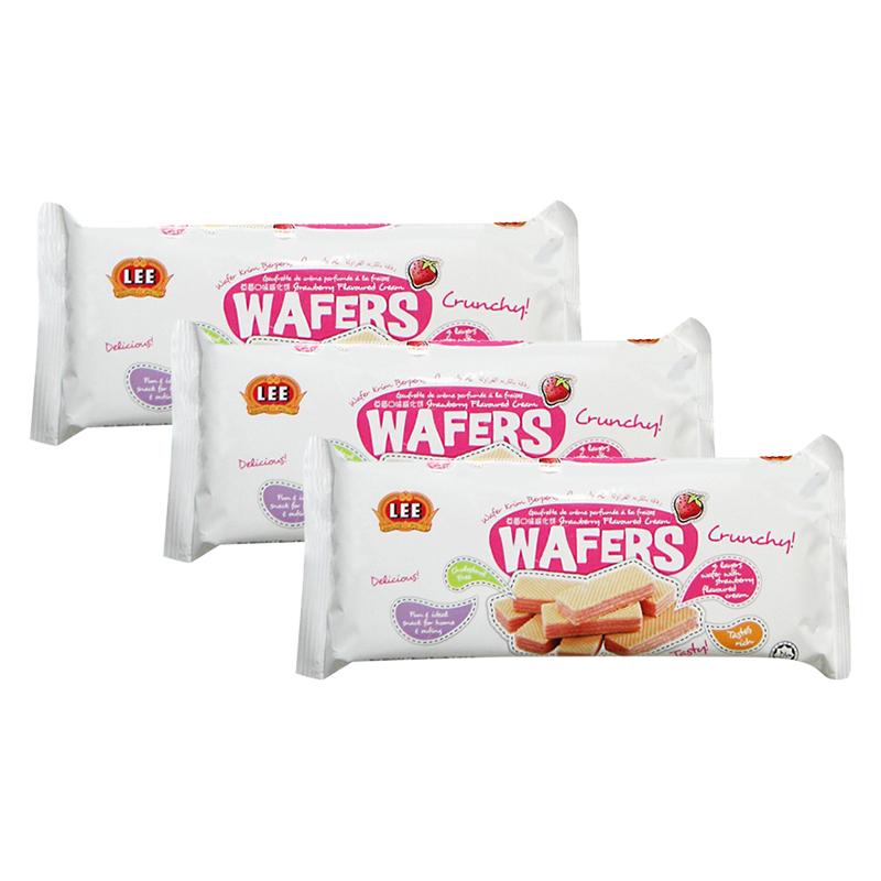 Combo 3 Bánh xốp kem Wafers hương dâu (90g/ Gói) - 1756728 , 3642573666077 , 62_12342017 , 51000 , Combo-3-Banh-xop-kem-Wafers-huong-dau-90g-Goi-62_12342017 , tiki.vn , Combo 3 Bánh xốp kem Wafers hương dâu (90g/ Gói)