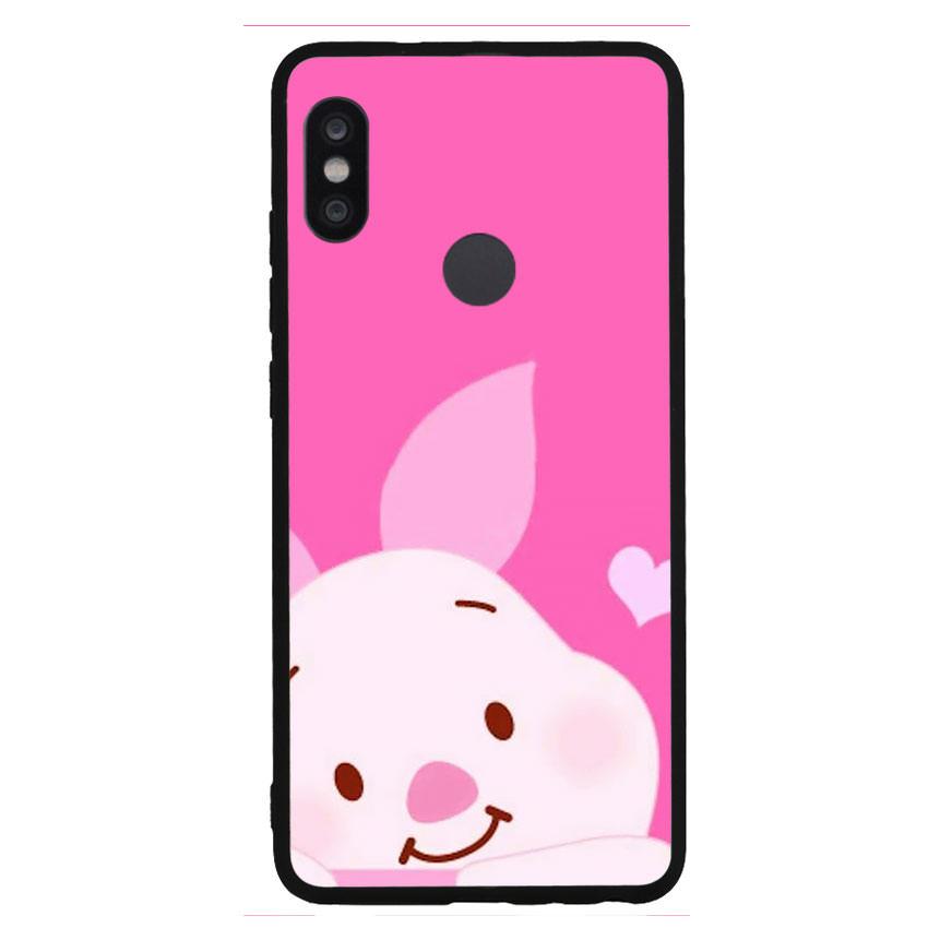 Ốp lưng nhựa cứng viền dẻo TPU cho điện thoại Xiaomi Redmi Note 5 Pro - Pig 11