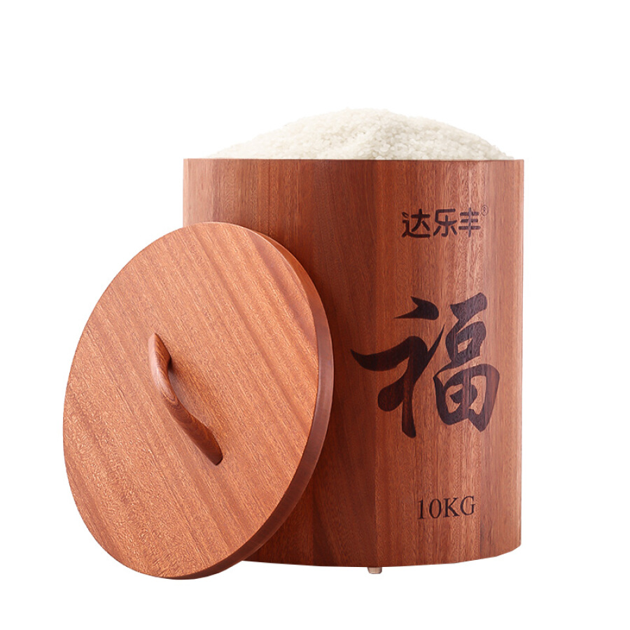 Da Lefeng wood rice barrel ebony wood round rice barrel 10KG face barrel rice cylinder rice box MBJ24 - 1269987 , 5962396444057 , 62_10238058 , 2346000 , Da-Lefeng-wood-rice-barrel-ebony-wood-round-rice-barrel-10KG-face-barrel-rice-cylinder-rice-box-MBJ24-62_10238058 , tiki.vn , Da Lefeng wood rice barrel ebony wood round rice barrel 10KG face barrel r
