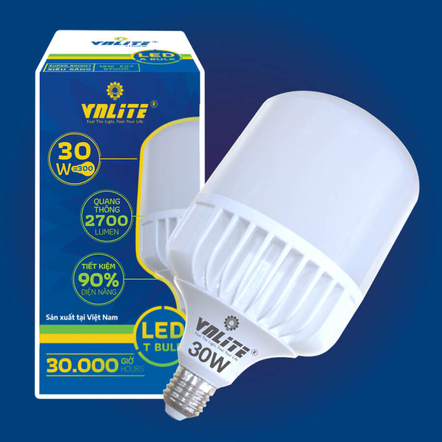 Đèn Led T-Bulb Premium 30W