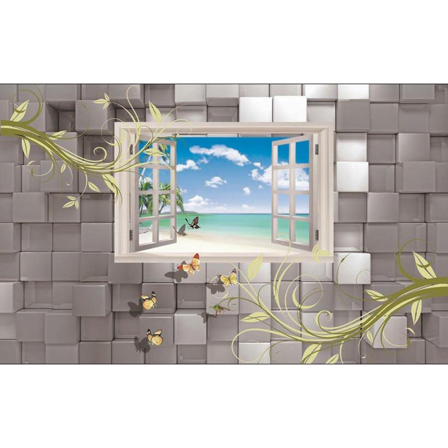 Tranh dán tường cửa sổ phong cảnh 3d 186 - 1218087 , 2733974619920 , 62_5184879 , 450000 , Tranh-dan-tuong-cua-so-phong-canh-3d-186-62_5184879 , tiki.vn , Tranh dán tường cửa sổ phong cảnh 3d 186
