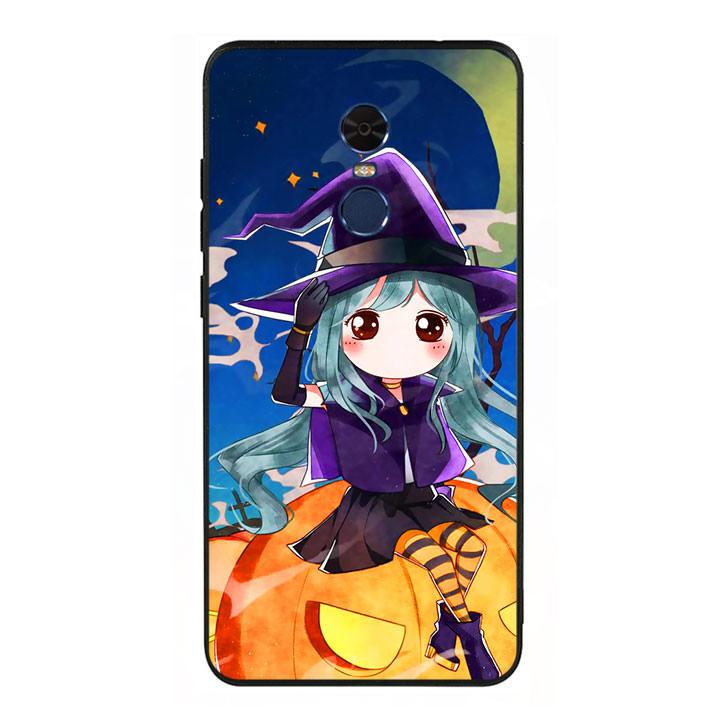 Ốp lưng Halloween viền TPU cho điện thoại Xiaomi Redmi Note 4 - Mẫu 04