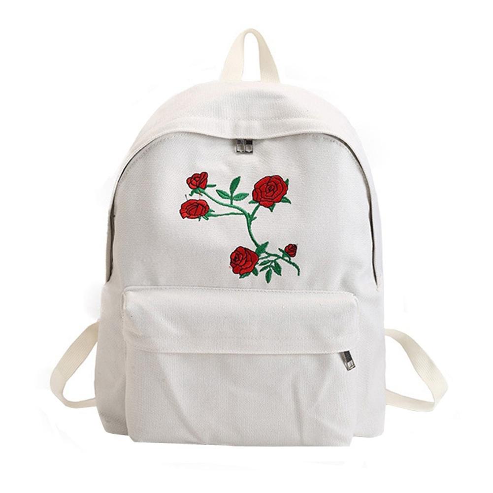 Canvas Double Shoulder Bag