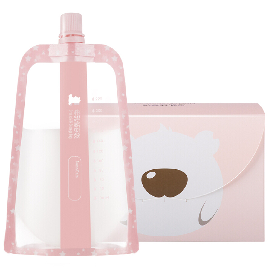 Túi Trữ Sữa Small White Bear 09779 220ml (30 Túi)