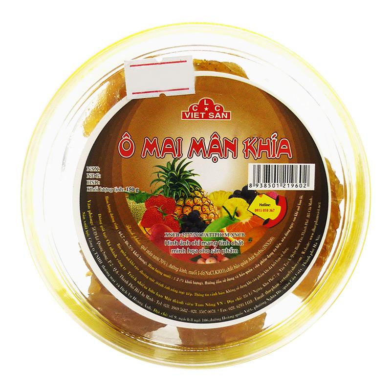Ô Mai Mận Khía Việt San 150G