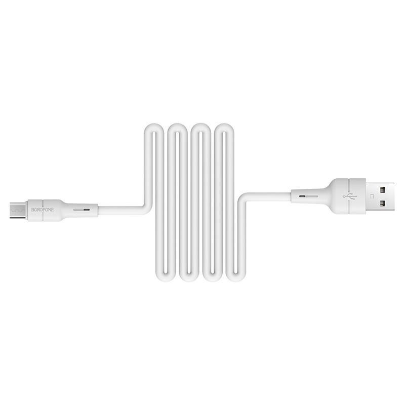 Cáp sạc Micro USB dài 1m Borofone BX15 - Hàng chính hãng