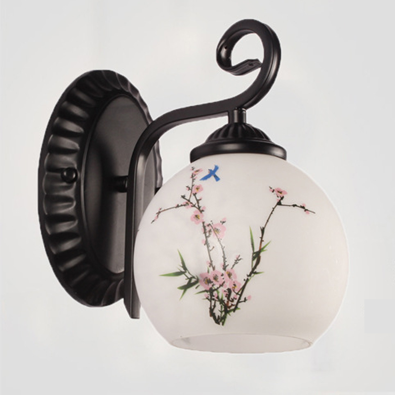 Đèn tường - đèn trang trí - đèn cầu thang, hành lang Flower - Tặng kèm bóng led