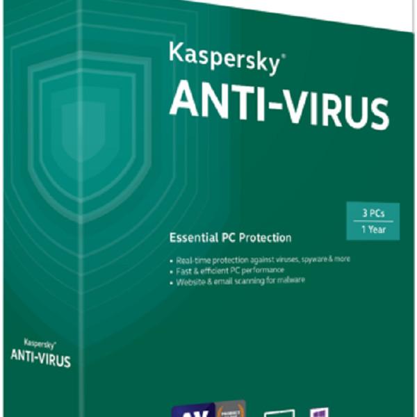 Kaspersky antivirus -3pc/ 1 năm