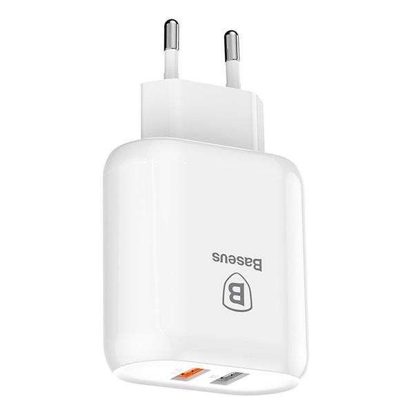 Bộ sạc nhanh đa năng 23W Baseus Bojure Dual 2 Port USB LV245