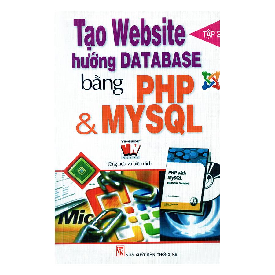 Tạo Website Hướng Database T2 Bằng PHP  MySQL