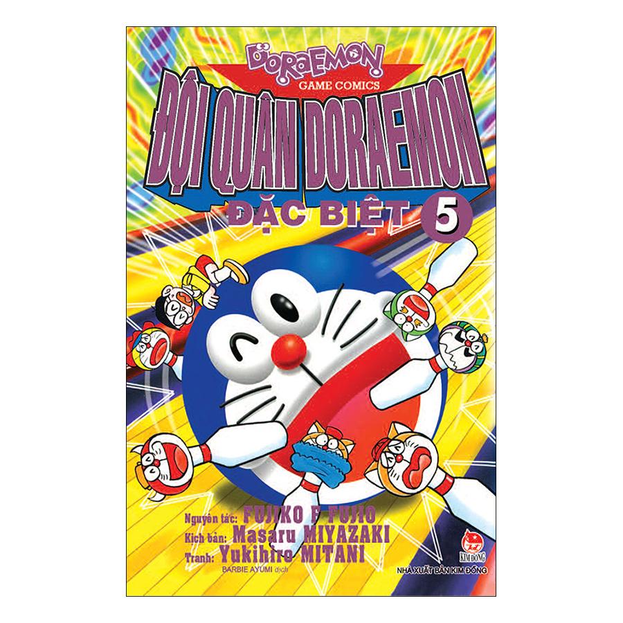 Đội Quân Doraemon Đặc Biệt - Tập 5 (Tái Bản 2019) - 1874779 , 6809900296834 , 62_14273547 , 18000 , Doi-Quan-Doraemon-Dac-Biet-Tap-5-Tai-Ban-2019-62_14273547 , tiki.vn , Đội Quân Doraemon Đặc Biệt - Tập 5 (Tái Bản 2019)