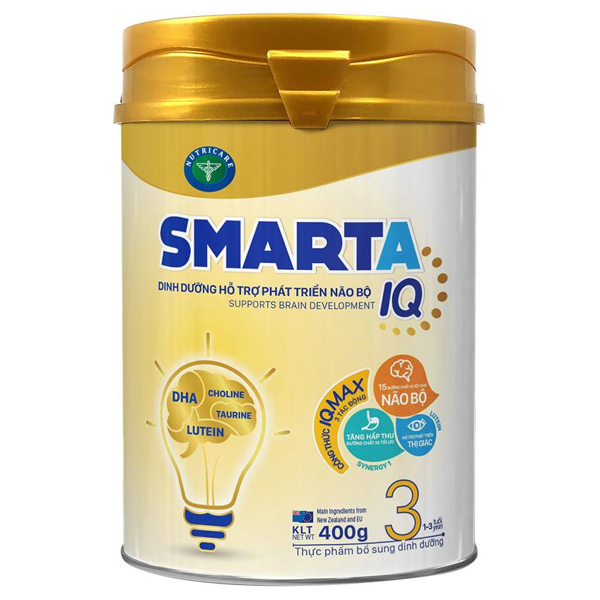 Sữa bột SmartA IQ 3 hỗ trợ phát triển não bộ  dinh dưỡng cho bé 1-3 tuổi - 979169 , 6474184709419 , 62_5486055 , 160000 , Sua-bot-SmartA-IQ-3-ho-tro-phat-trien-nao-bo-dinh-duong-cho-be-1-3-tuoi-62_5486055 , tiki.vn , Sữa bột SmartA IQ 3 hỗ trợ phát triển não bộ  dinh dưỡng cho bé 1-3 tuổi