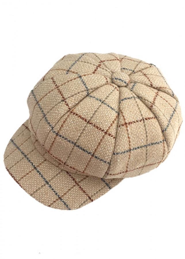 Mũ nón Bere vải dạ karo