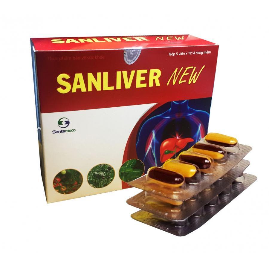 Thực phẩm chức năng giải độc gan Sanliver New
