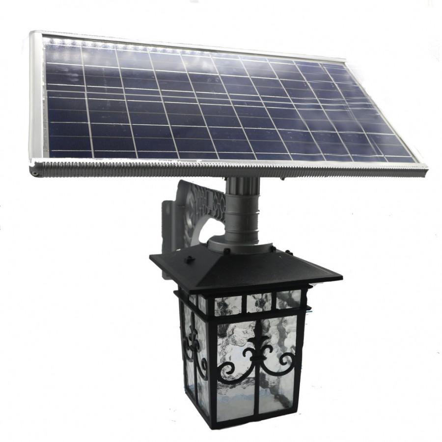 Đèn năng lượng mặt trời treo tường pin rời cao cấp HT575