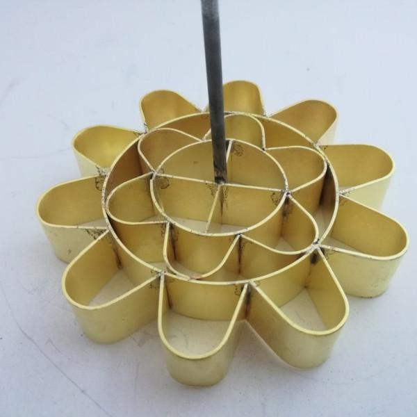 Khuôn bánh nhúng đồng hoa mai 10cm