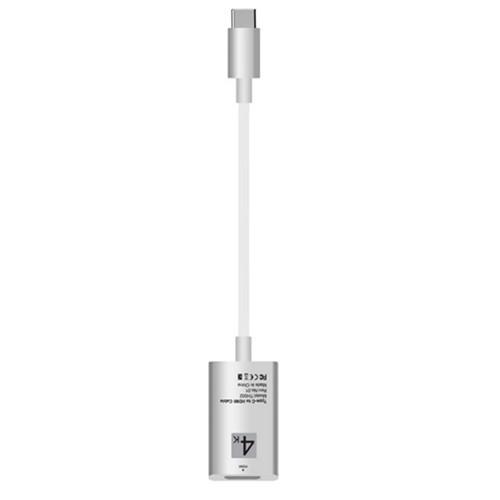 Adapter USB Type-C chuẩn USB 3.1 ra HDMI 4K Màu Trắng bạc - 15548910 , 7303865518530 , 62_25558523 , 315000 , Adapter-USB-Type-C-chuan-USB-3.1-ra-HDMI-4K-Mau-Trang-bac-62_25558523 , tiki.vn , Adapter USB Type-C chuẩn USB 3.1 ra HDMI 4K Màu Trắng bạc