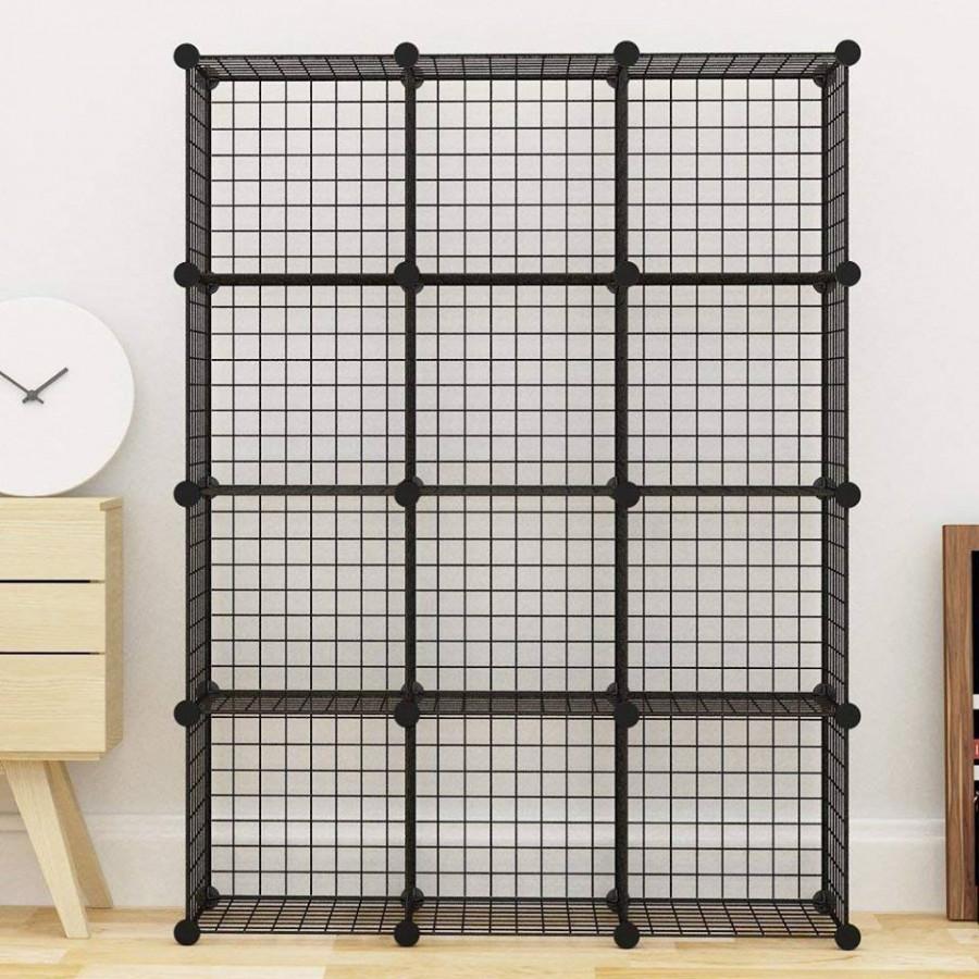 Tủ lưới lắp ghép đa năng 12 ô (111 x 147 x 37 cm)
