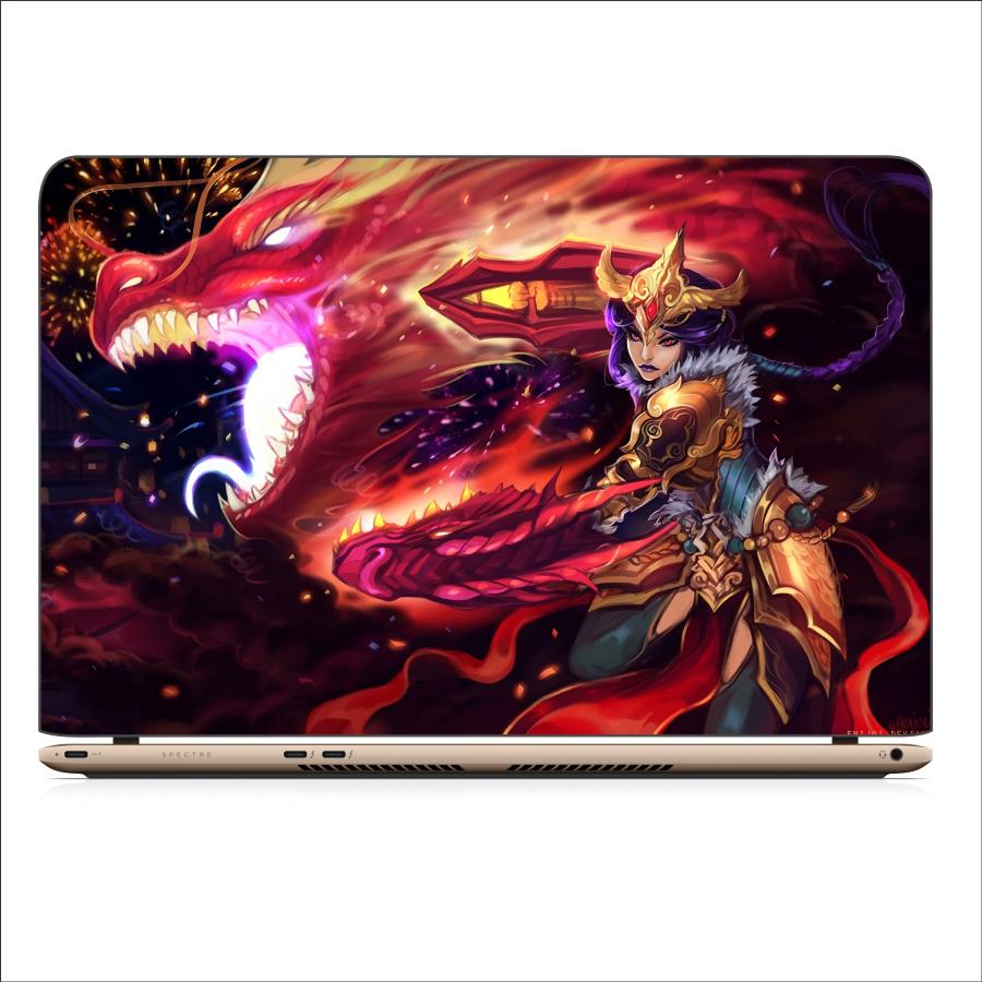 Mẫu Dán Decal Laptop Liên Minh Huyền Thoại - DCLTLMHT 104