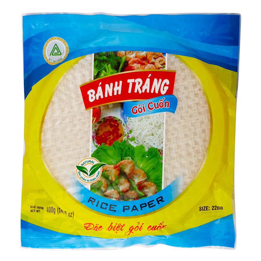 Bánh Tráng Gỏi Cuốn 22cm Tròn Duy Anh Foods - 1188106 , 6793544808938 , 62_5203131 , 23000 , Banh-Trang-Goi-Cuon-22cm-Tron-Duy-Anh-Foods-62_5203131 , tiki.vn , Bánh Tráng Gỏi Cuốn 22cm Tròn Duy Anh Foods