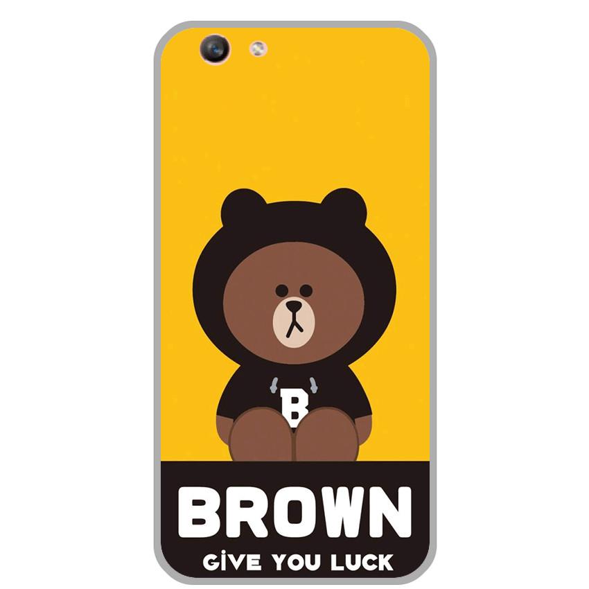 Ốp lưng Oppo F1S / A59 (Dẻo) - Brown Give You Luck- Hàng Chính Hãng - 7520303 , 5076683871003 , 62_16268975 , 150000 , Op-lung-Oppo-F1S--A59-Deo-Brown-Give-You-Luck-Hang-Chinh-Hang-62_16268975 , tiki.vn , Ốp lưng Oppo F1S / A59 (Dẻo) - Brown Give You Luck- Hàng Chính Hãng