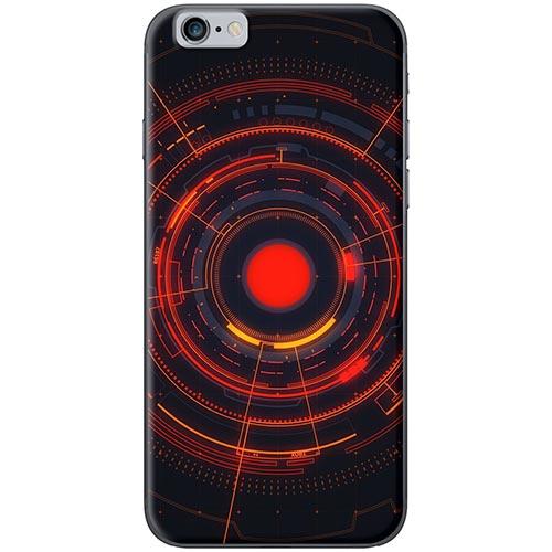 Ốp Lưng Hình Vòng Tròn Đỏ Dành Cho iPhone 6 / 6s