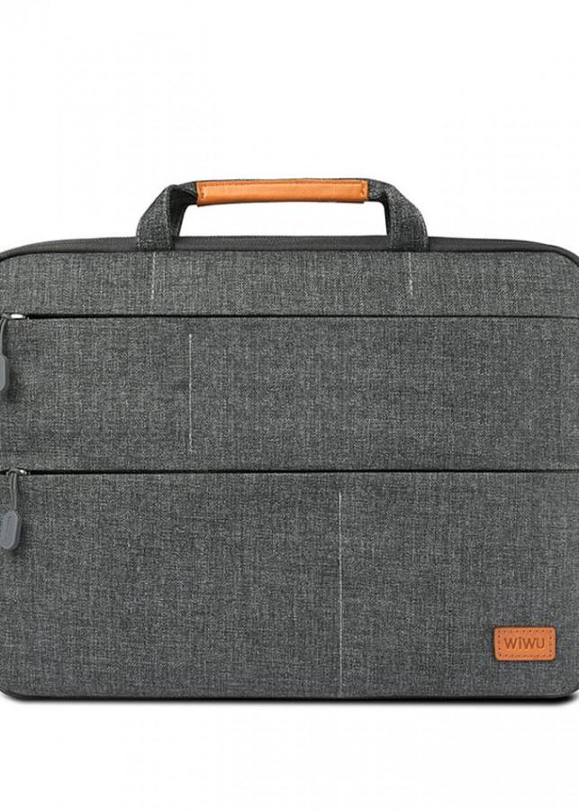 Túi chống sốc WIWU Smart Stand Sleeve cho Macbook 14inch xám
