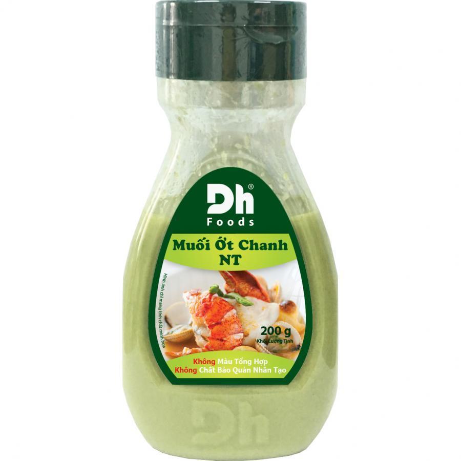 Muối Ớt Chanh Nha Trang 200gr Dh Foods