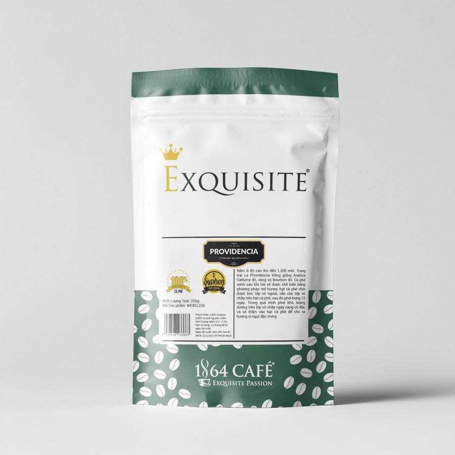 Cà phê hảo hạng (Specialty Coffee) tinh khiết không tẩm không độn El Salvador Providencia hạt khối lượng tịnh 220g -...