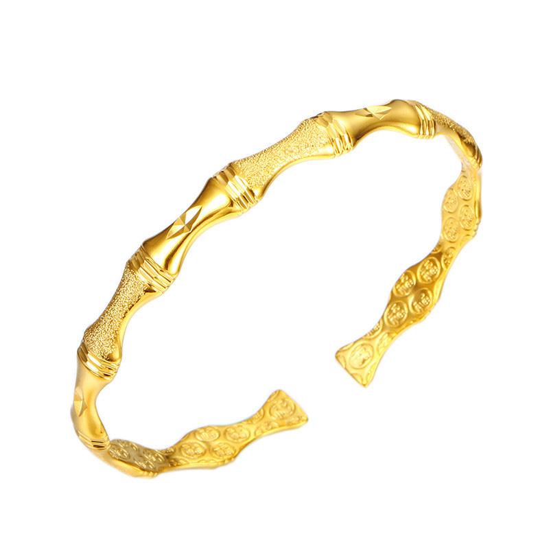Vòng Tay Cô Dâu Mạ Vàng