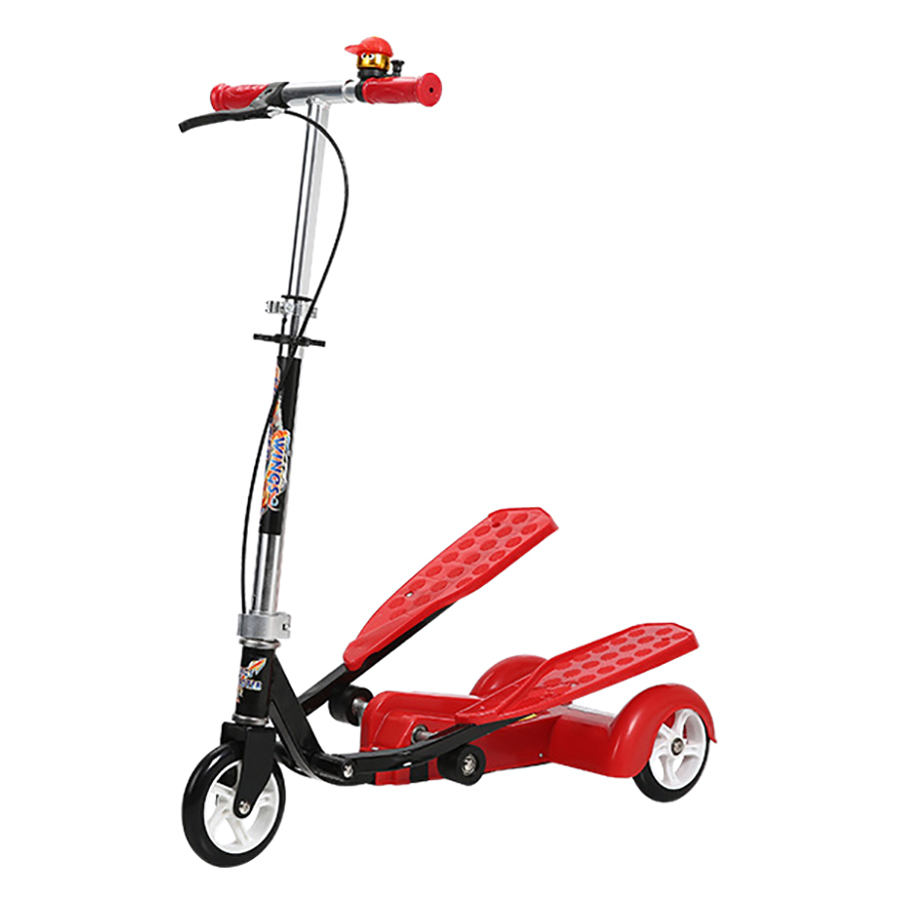 Xe Trượt Scooter Có Bàn Đạp Broller Lz-011 - Đỏ - 947752 , 2333115888828 , 62_2128903 , 1650000 , Xe-Truot-Scooter-Co-Ban-Dap-Broller-Lz-011-Do-62_2128903 , tiki.vn , Xe Trượt Scooter Có Bàn Đạp Broller Lz-011 - Đỏ