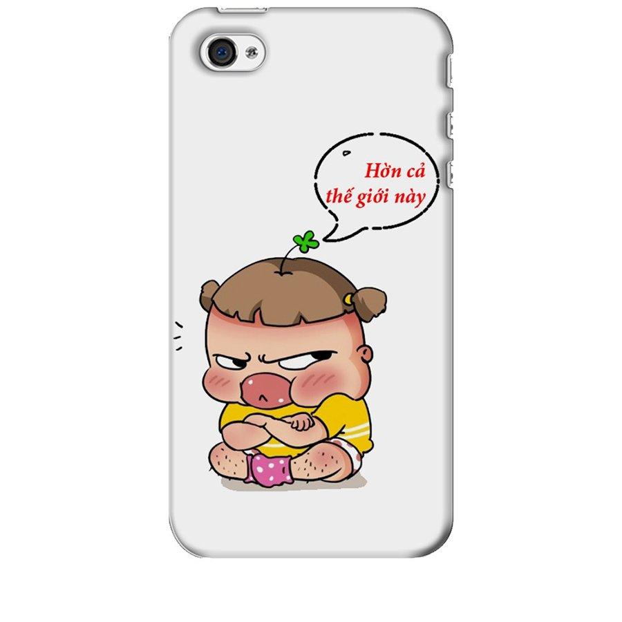 Ốp Lưng Dành Cho iPhone 4 Quỳnh Aka 2