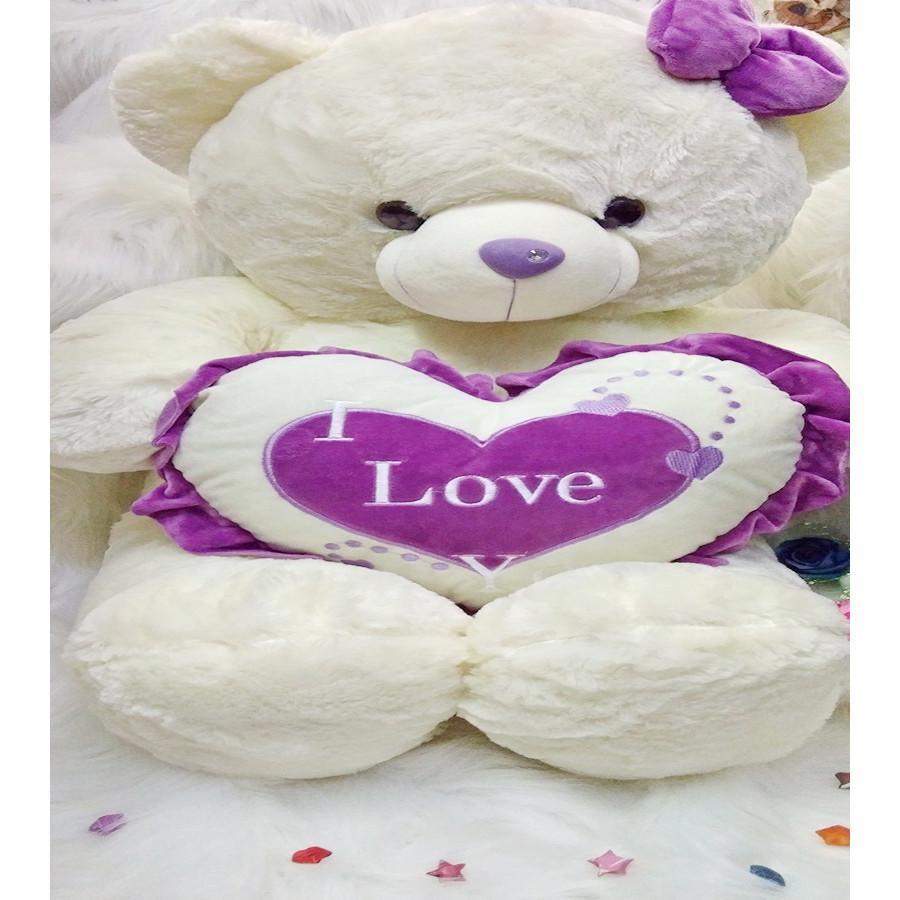 Gấu bông TEDDY TIM I LOVE U - 1293361 , 1434334516712 , 62_14706914 , 778000 , Gau-bong-TEDDY-TIM-I-LOVE-U-62_14706914 , tiki.vn , Gấu bông TEDDY TIM I LOVE U