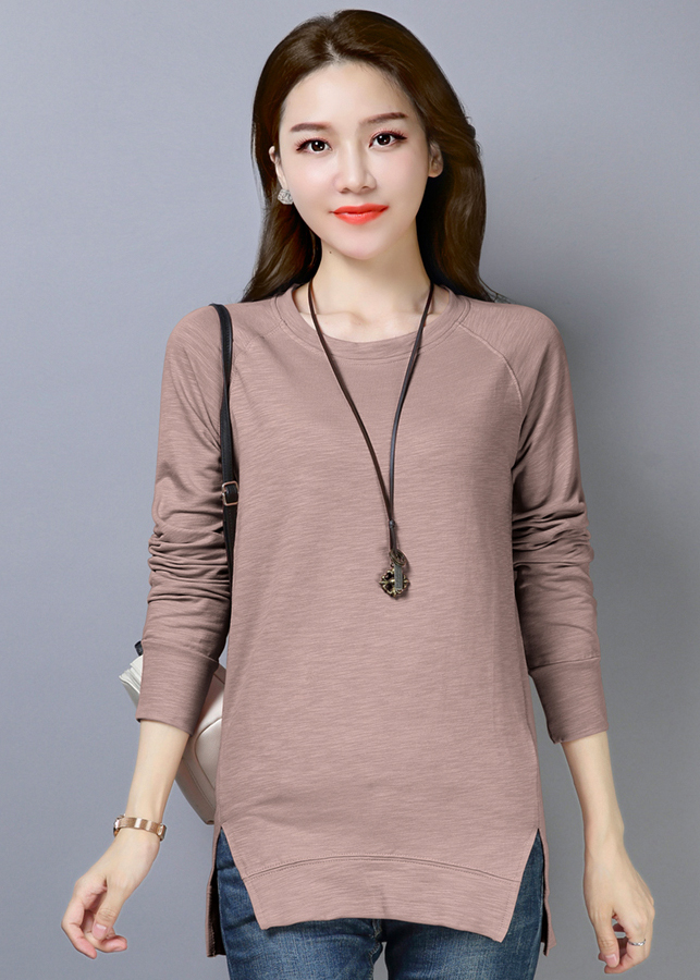 Áo thun nữ phôm dài thời trang thiết kế vạt áo xẻ dài độc đáo 102 - 9909366 , 5371237055275 , 62_19776374 , 408000 , Ao-thun-nu-phom-dai-thoi-trang-thiet-ke-vat-ao-xe-dai-doc-dao-102-62_19776374 , tiki.vn , Áo thun nữ phôm dài thời trang thiết kế vạt áo xẻ dài độc đáo 102